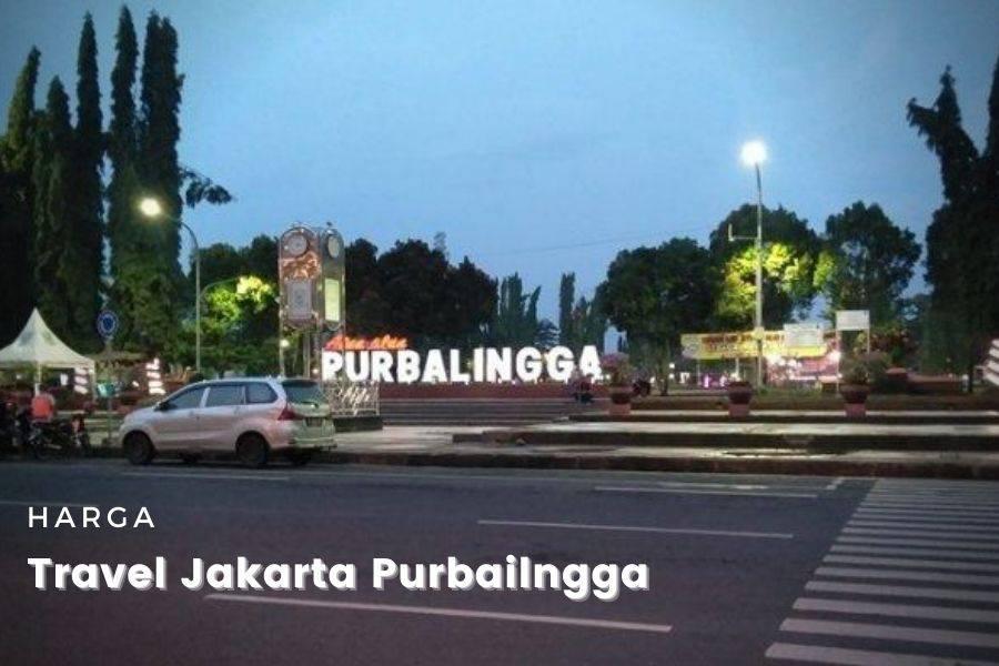 Travel Jakarta Purbalingga harga murah