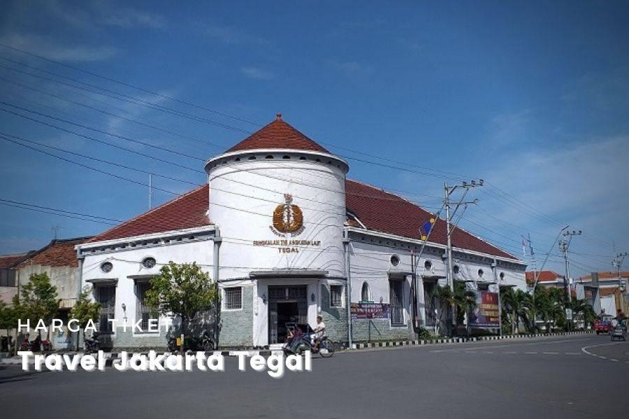 harga tiket Travel Jakarta Tegal